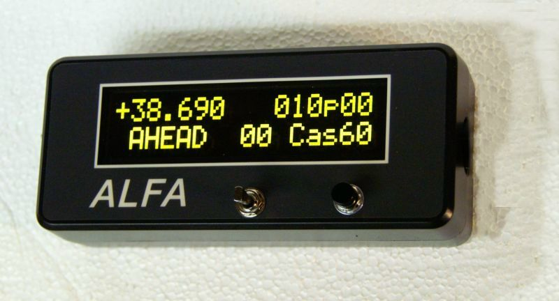 ALFA-Elite Driver's Display